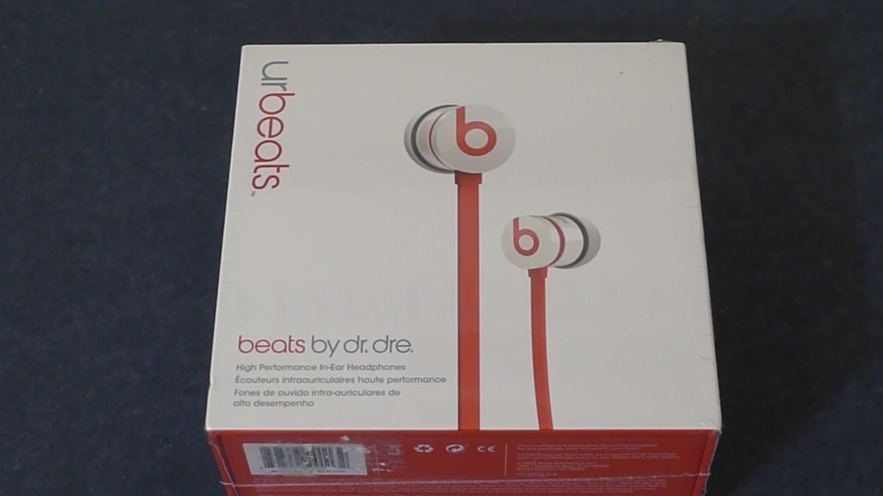 Beats By Dre UrBeats White and Gold with Flat Cable and ... |Urbeats White