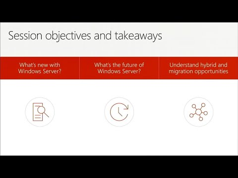Windows Server: What's new and what's next - BRK1038