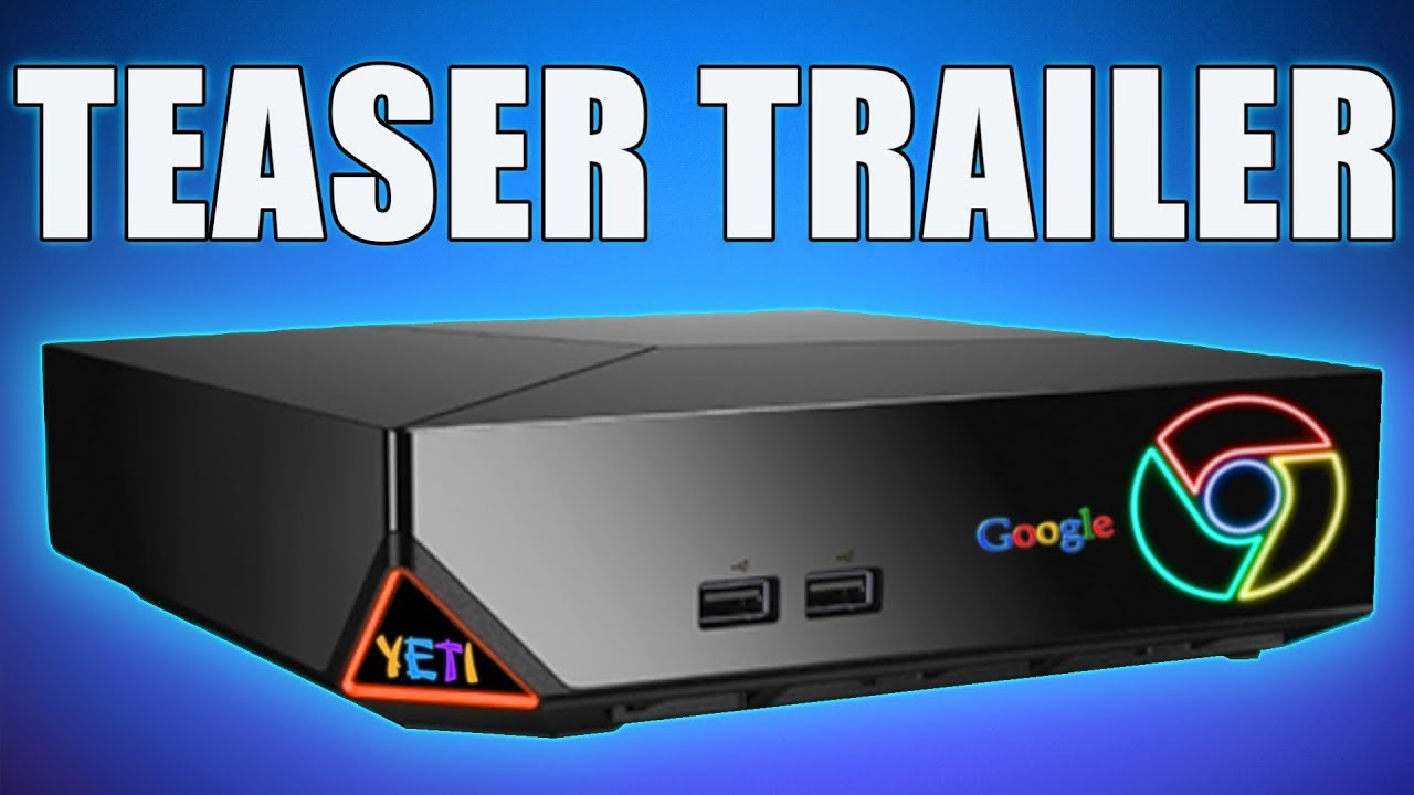 GOOGLE CONSOLE IS INSANE - New Google Gaming Console