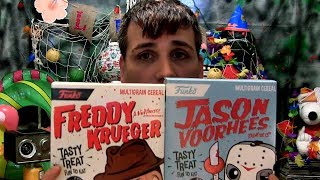 Review: Funko's Jason Voorhees and Freddy Krueger CEREAL!