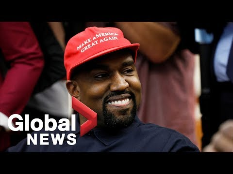 Kanye West FULL RANT inside Oval Office during meeting with Donald Trump