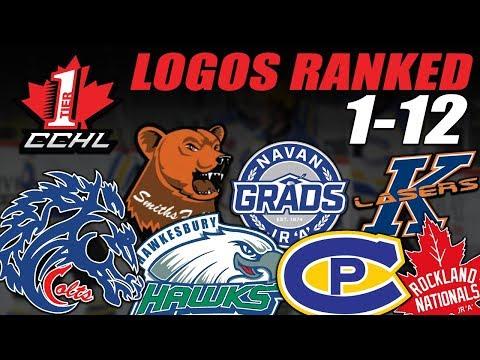 CCHL Logos Ranked 1-12