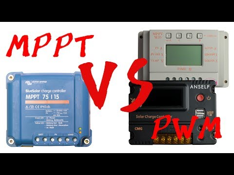 MPPT VS PWM || Solar Charge Controller
