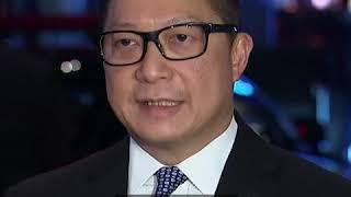 """港警""""一哥""""访问北京 称对待示威活动要""""刚柔并济"""""""