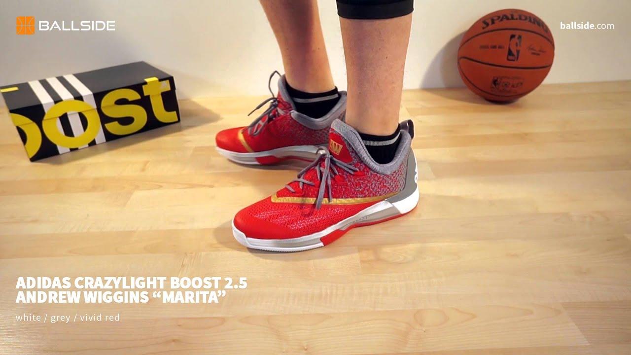 best loved f034b b5df0 adidas crazylight BOOST 2 5 Wiggins on feet