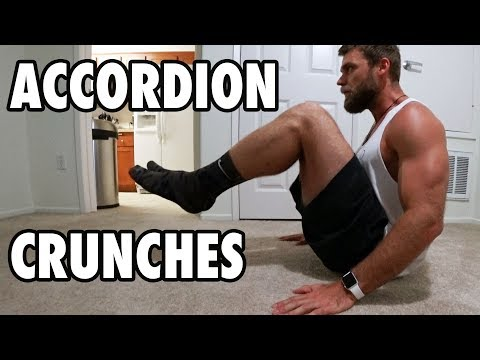 How To Perform Accordion Crunches | Bodyweight Exercise Tutorial