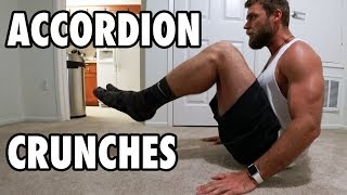 How to Perform Accordion Crunches   Bodyweight Exercise Tutorial