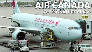 TRIP REPORT | Air Canada Boeing 767 SIGNATURE CLASS Warsaw to Toronto