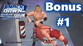 WWE SmackDown! Shut Your Mouth: Season Mode Bonus #1 (Special Cutscenes)