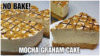 NO BAKE MOCHA GRAHAM CAKE