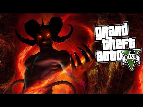 MATANDO AL DIABLO EN GTA 5!! - GTA V PC MISTERIX MOD!