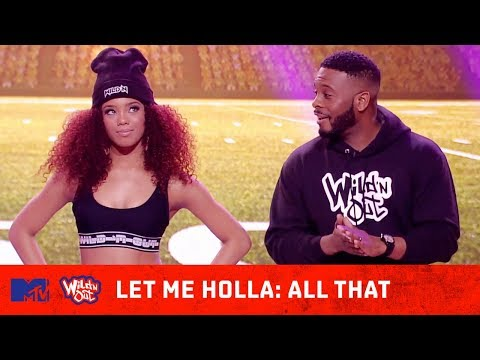 'All That' Cast Shocks the Crowd w/ Their Game 😂 | Wild N Out | #LetMeHolla