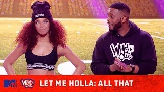 'All That' Cast Shocks Crowd With Their Game 😂 Let Me Holla | Wild 'N Out | MTV