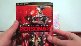 Unboxing- Prinny 2 e Persona 2 Innocent Sin PSP