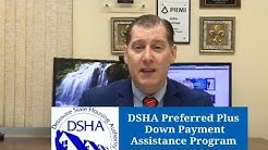 DSHA Preferred Plus Down Payment Assistance Program