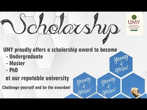 UMY Scholarship for International Students in Indonesia | 2019-2020