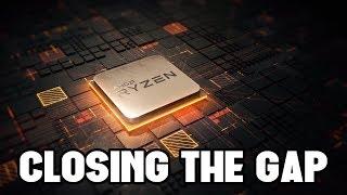 AMD is Gaining Ground on Intel