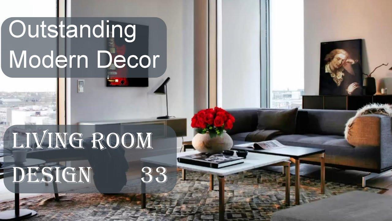Outstanding Modern Décor, Living Room Design #33