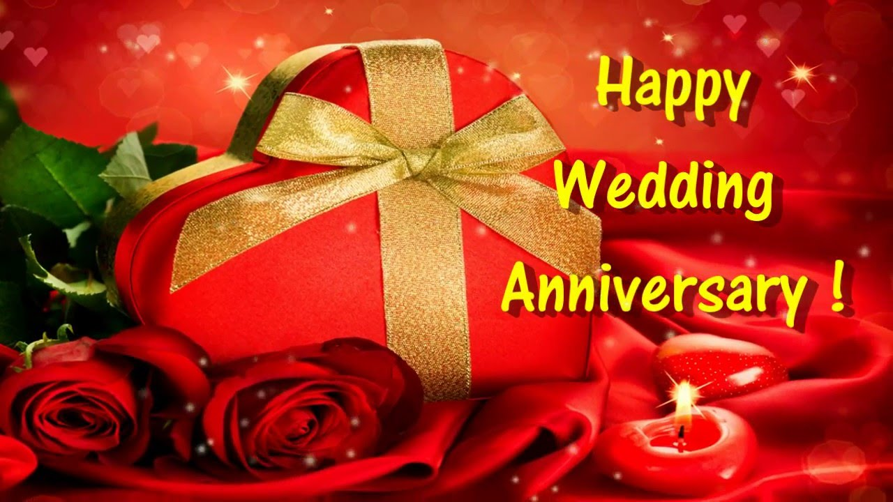 Happy Wedding Anniversary Card For Whatsapp Youtube