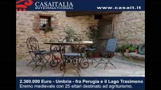 Agriturismi vendita - Eremo medievale destinato ad attività ricettiva fra Perugia e il Lago Trasimeno
