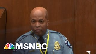 Minneapolis Police Chief Said Chauvin Violated Policy | The ReidOut | MSNBC