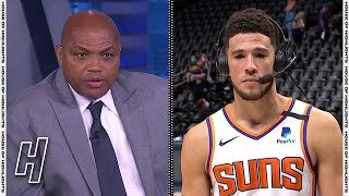 Devin Booker Joins Inside the NBA, Talks Sweeping the Nuggets in Game 4 | 2021 NBA Playoffs