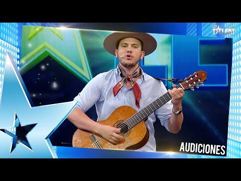 GABRIEL interpretó una linda canción de folclore uruguayo