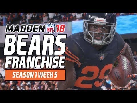 Madden NFL 18 - Bears Franchise Ep. 8 - Week 5 vs. Vikings [Season 1]