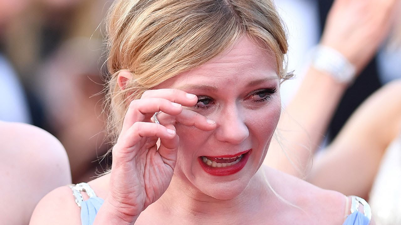 Why Is Kirsten Dunst Crying At Cannes Film Festival Premiere Of The