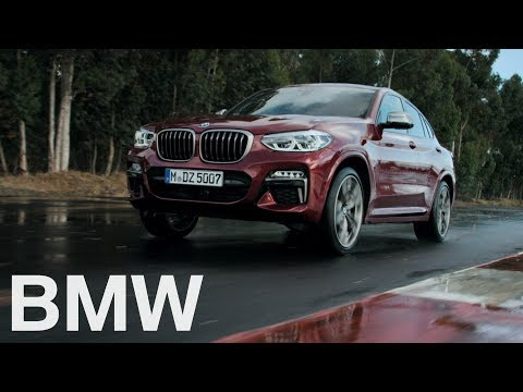 The all-new BMW X4. Driving dynamics.