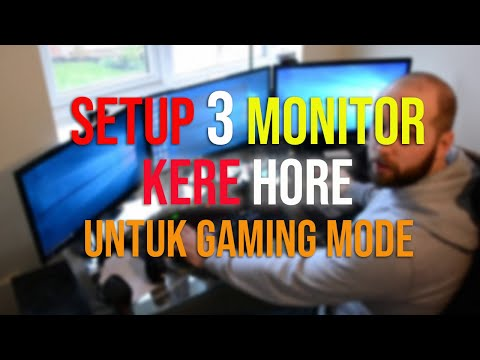 Cara Mudah 1 PC 2 Monitor, CPU Bekas Monitor Jadul Onboard Tanpa VGA Splitter.