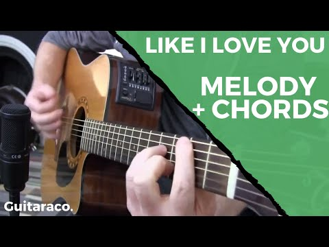 Like I Love You - Justin Timberlake // Guitar Cover (multiple parts)