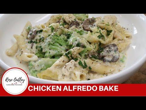 Chicken Alfredo Pasta Bake | Chicken Alfredo | Chicken Alfredo Penne |Alfredo with Broccoli