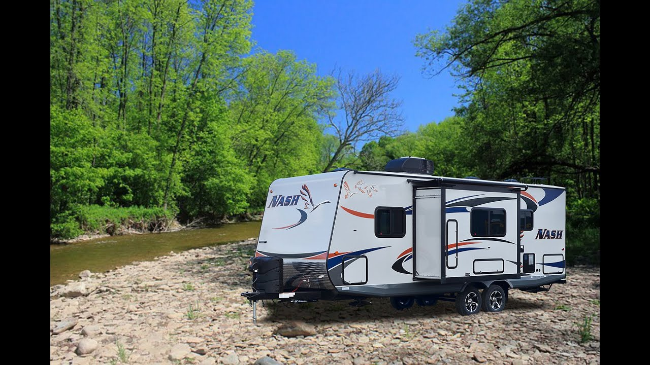 Luxury Quick Tour Of The New Nash 24M Travel Trailer - YouTube