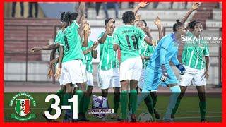 HASACCAS LADIESGHANA VS NIGERIA RIVER ANGELS3-1-CAF WCL QUALIFIERS FINAL-GHANA WIN