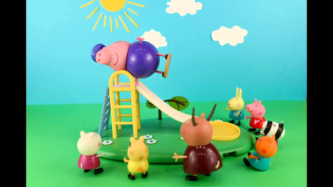 Свинка Пеппа Мультик с игрушками Мама Свинка рожает