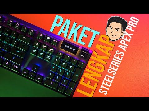 Masa Depan Mechanical Keyboard? Gamau Ganti Keyboard Lagi! - Steelseries Apex Pro Review