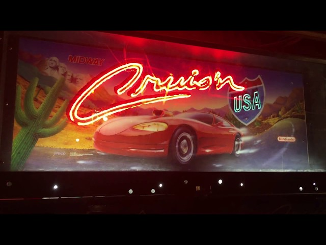Cruis'n USA Link two games together
