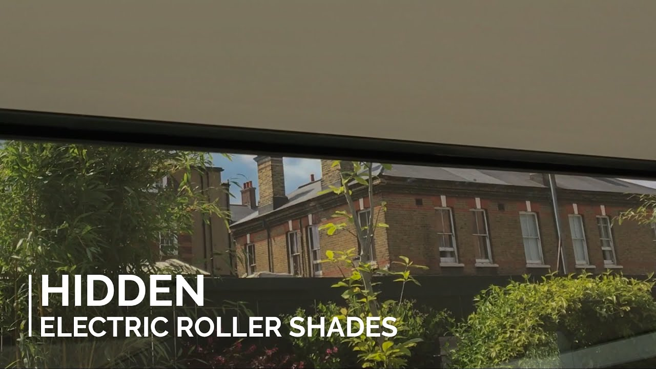 Hidden Roller Shades Concealed In Blindspace 174 Boxes