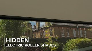 Hidden Roller Shades - Concealed in Blindspace® boxes
