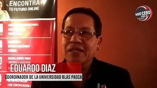 Eduardo Díaz - Coordinador de alumnos de la Universidad Blas Pascal // Radio Cero