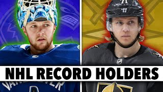 12 CRAZY NHL Records Held By Current Players