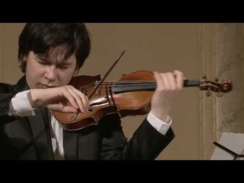 Aylen Pritchin (violin) English Hall of St. Petersburg Music House 2014-05-14 Part 1