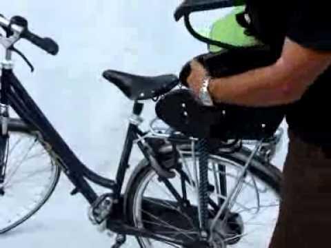Comment Installer Sur Un Vélo Un Siège Enfant Arrière Gmg Youtube