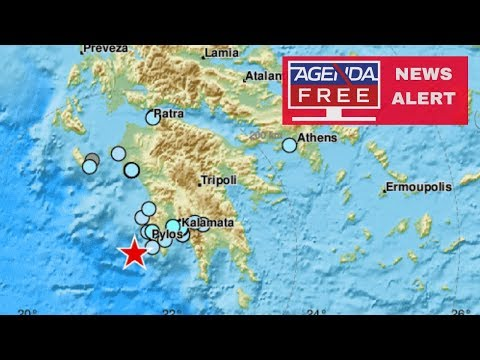 5.0 Earthquake off Coast of Greece - LIVE COVERAGE
