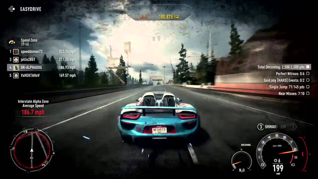 nfs rivals ps4 porsche 918 spyder youtube. Black Bedroom Furniture Sets. Home Design Ideas