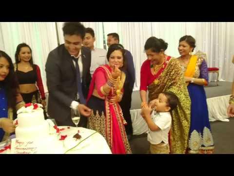 Sandeep & Deepa's 1st Wedding Anniversary