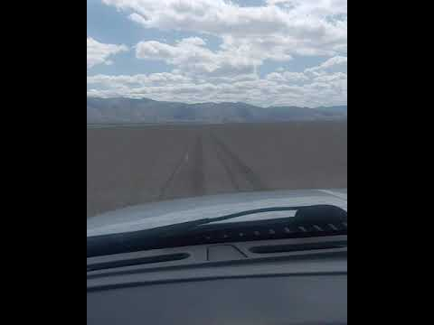 Driving Dead Cow Lakebed Airstrip