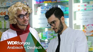 Deutscher Apotheker vs. Arabischer Apotheker