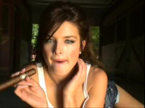 "Outlaw Cigars - Calendar Girl Brittney ""Smoking HOT  & SEXY""!"